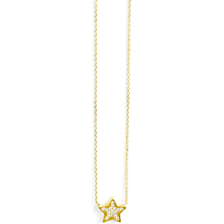 BALIQ Collar Estrella Oro 18k ORO
