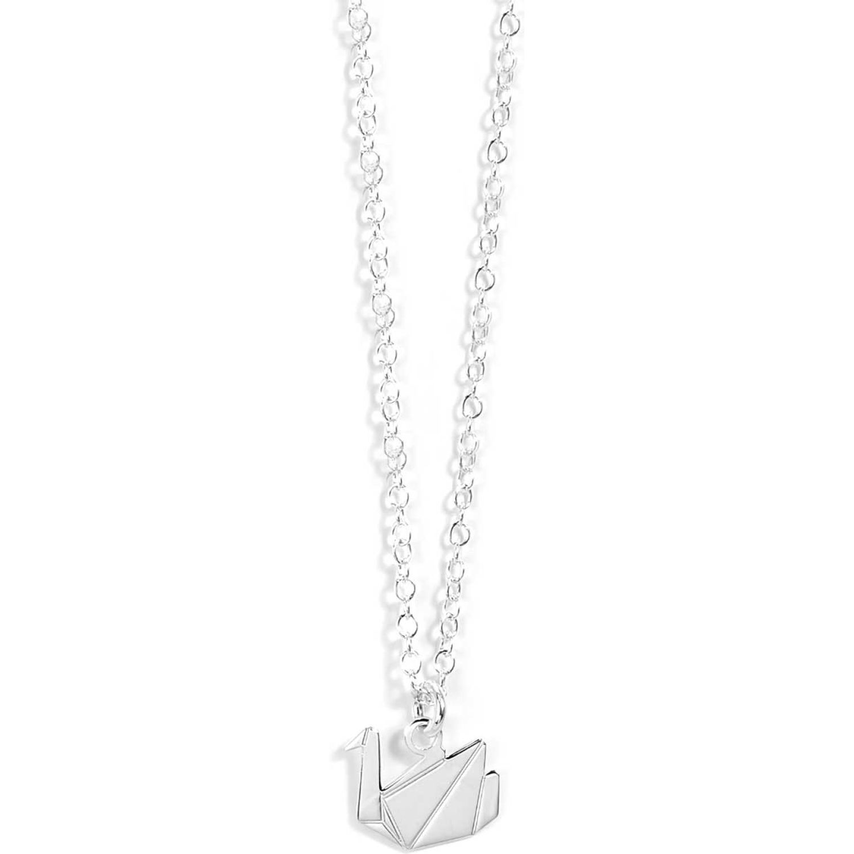 BALIQ Collar Origami Plata 925 PLATA