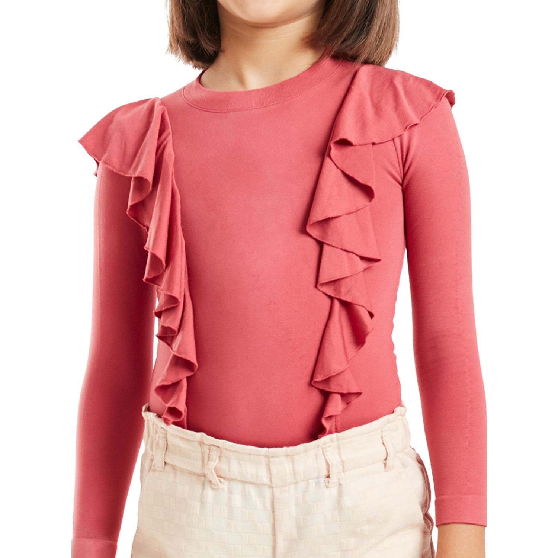 KOKETA Seamless Mini Camiseta Manga Larga Lilo 2020 ROSE Camisas Interiores, Tanks & Camisoles