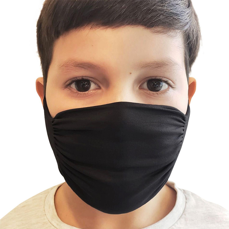 KOKETA SEAMLESS MASCARILLA NINO X10 NEGRO máscaras
