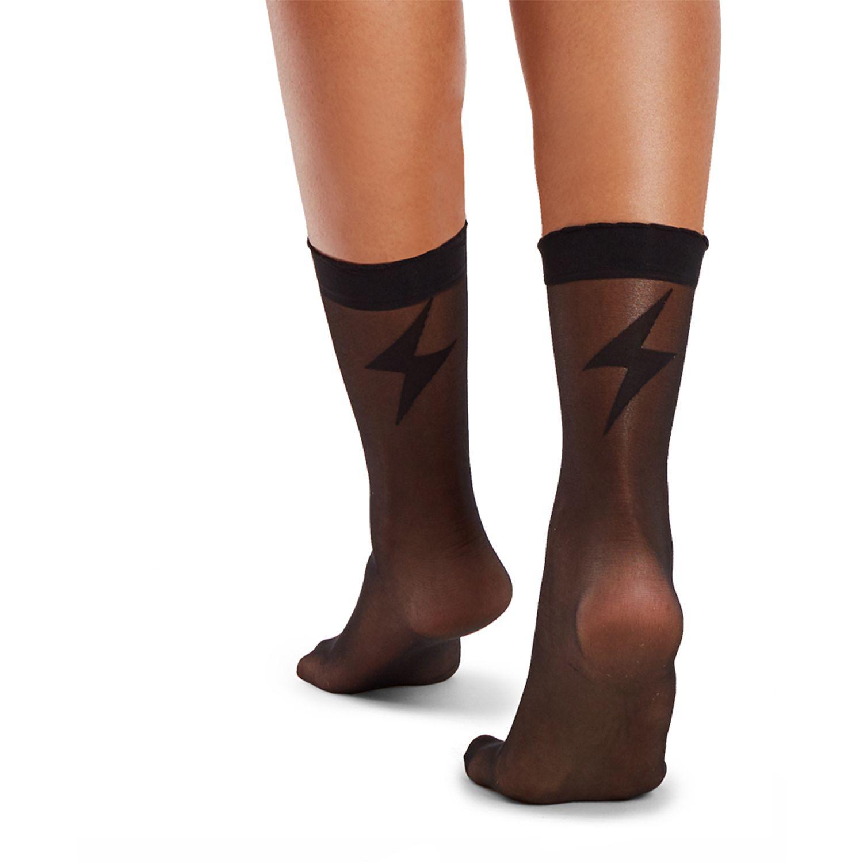 KOKETA Silver M/Pantalon Socket Spt Thunder 2020 NEGRO Medias y panties