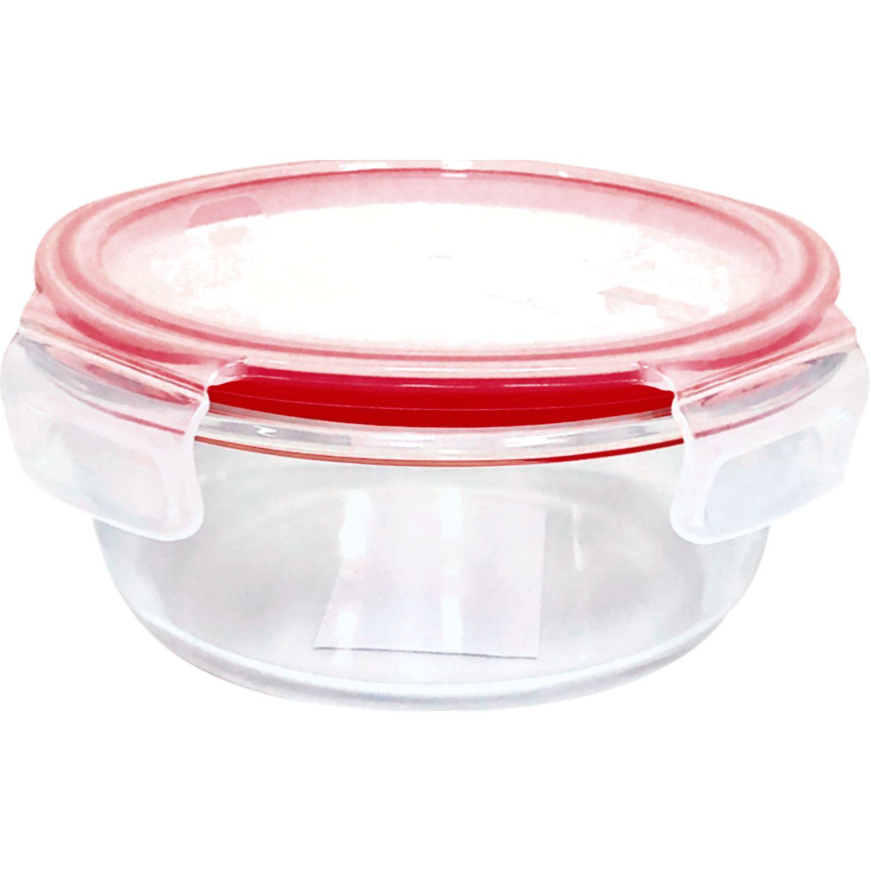 PYREX Refractario Redondo Hermético C/ Tapa Plastica Y Ventila De 900 Ml TRANSPARENTE Sets de Almacenamiento y Organización de Alimentos
