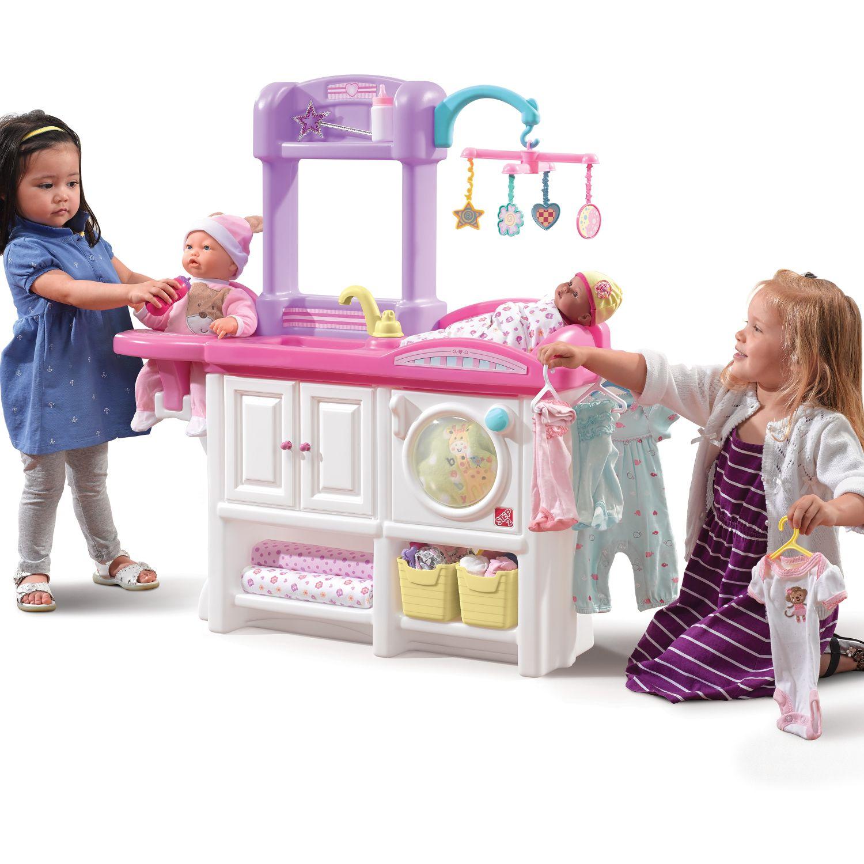 STEP 2 Centro De Cuidado Del Bebé ROSADO Sets de juego