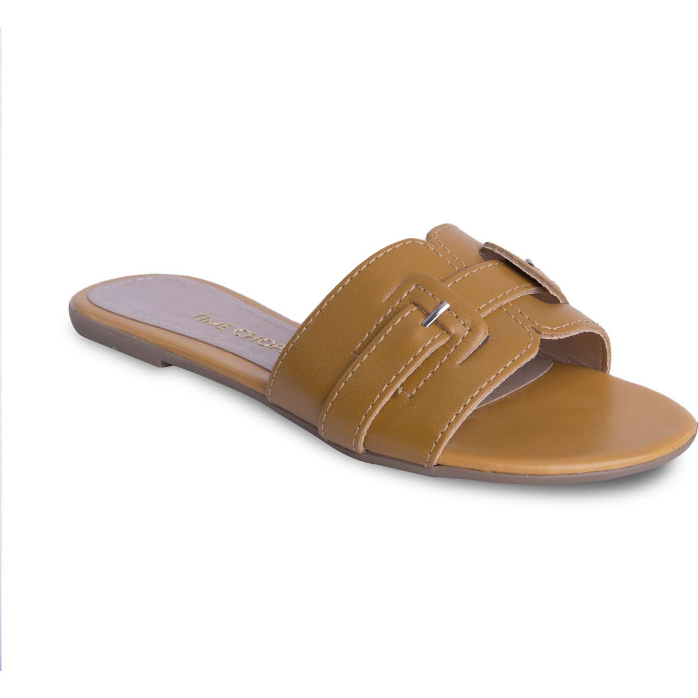 TIME CHOPPER SANDALIA 1076215 CAMEL CAMEL Flats