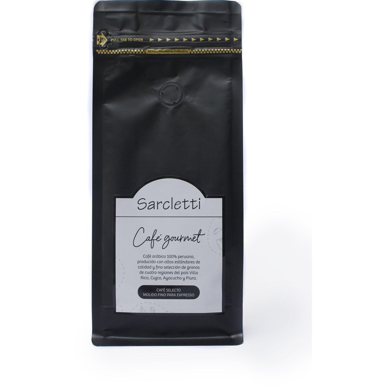 Sarcletti Café Regular Molido Espresso 250gr SIN COLOR Café molido