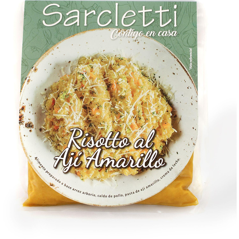 Sarcletti Risotto Ají Amarillo 500gr SIN COLOR Sin carne
