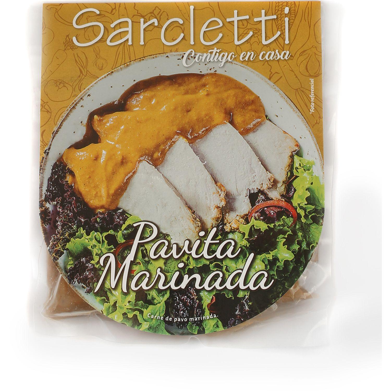 Sarcletti Pavo 300gr SIN COLOR De pollo y pavo