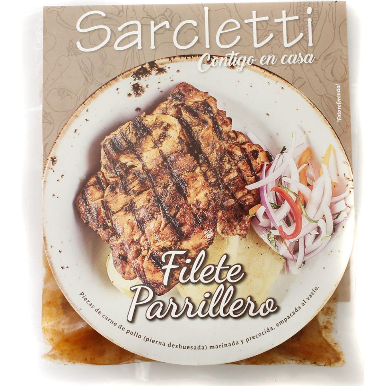 Sarcletti Filete Pollo Parrillero 350gr SIN COLOR De pollo y pavo