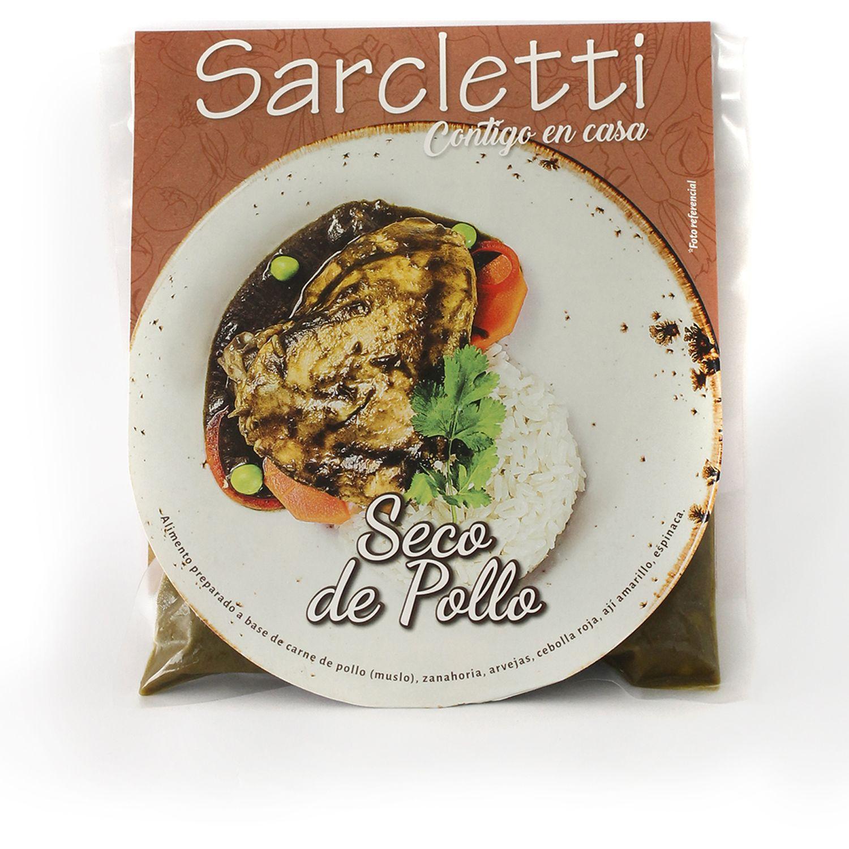Sarcletti Seco De Pollo 320gr SIN COLOR De pollo y pavo