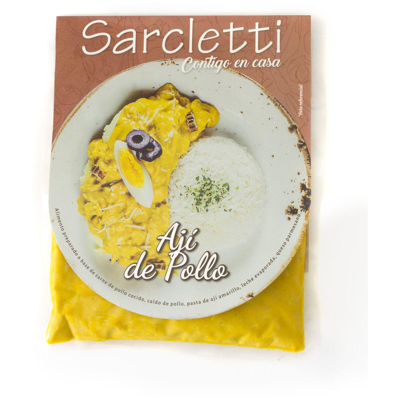Sarcletti Ají De Gallina 320gr SIN COLOR De pollo y pavo