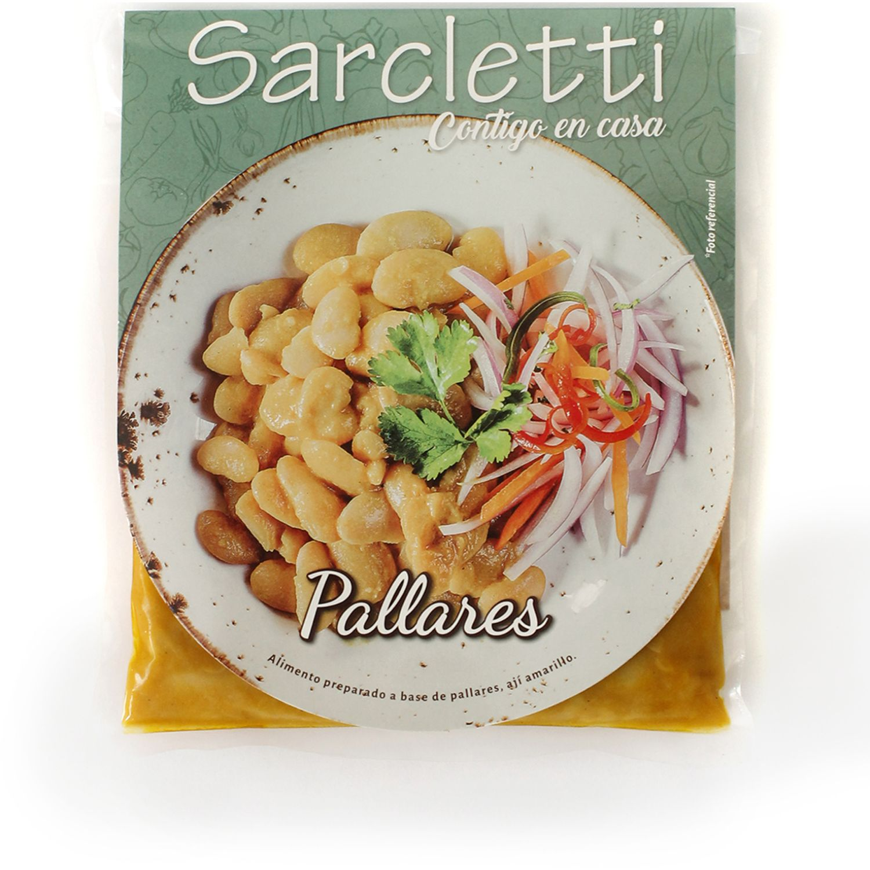Sarcletti Pallares 320gr SIN COLOR Sin carne